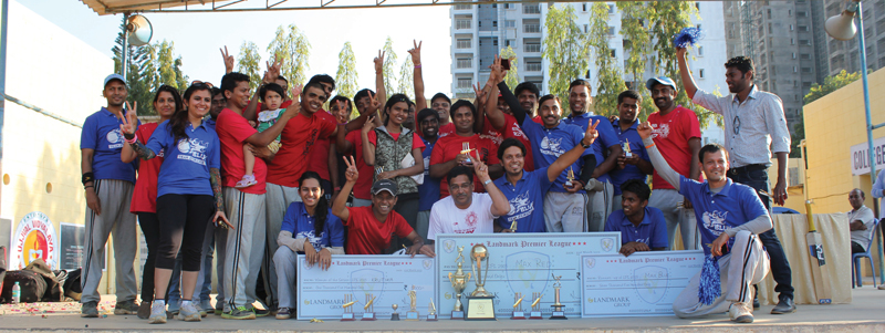 Landmark Premier League is one of the many initiatives the organisation takes for its employees